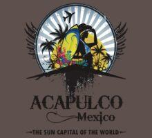 Acapulco Mexico One Piece - Short Sleeve