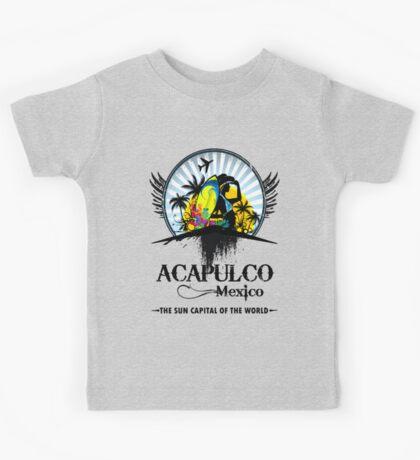 Acapulco Mexico Kids Tee