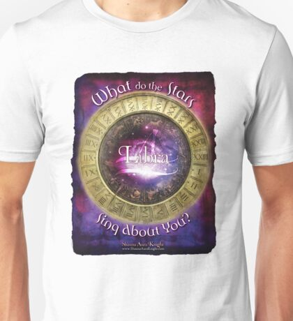 Astrology: Libra Unisex T-Shirt