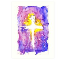 Thank you for the Cross Art Print