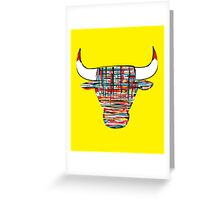 """Chi-Bull"" Greeting Card"