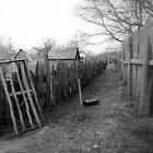 Plimouth Village, Massachusetts, U.S.A. by Gary  Oertel