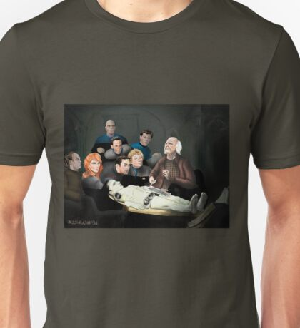 The Anatomy Lesson of Doctor Noonien Soong T-Shirt