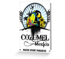 Cozumel Mexico Summer Place Greeting Card