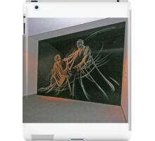 Etched glass, Temple of the Community of Christ iPad Case/Skin