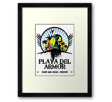 Playa Del Armor Mexico Framed Print