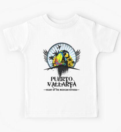 Puerto Vallarta Mexico Kids Tee