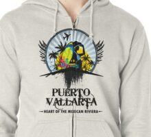 Puerto Vallarta Mexico Zipped Hoodie