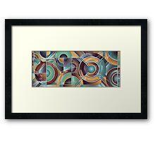 Sage And Bagel Framed Print