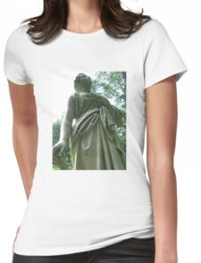 Stone Angel: Don't Blink Womens Fitted T-Shirt