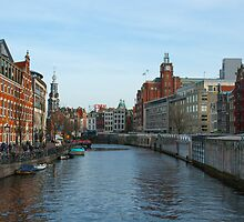Amsterdam in Color by boraakbay