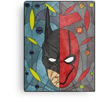 Bat and Hood Metal Print