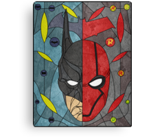 Bat and Hood Canvas Print