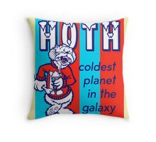 HOTH: COLDEST IN THE GALAXY Throw Pillow