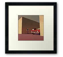 Not a Word Framed Print
