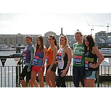 london Marathon   Celebrities Photographic Print