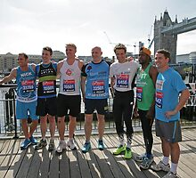 london Marathon   Celebrities by Keith Larby