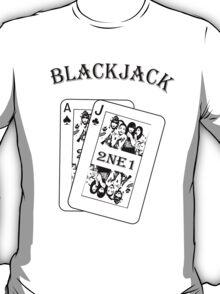 2NE1 - Blackjack t-shirt T-Shirt