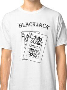 2NE1 - Blackjack t-shirt Classic T-Shirt