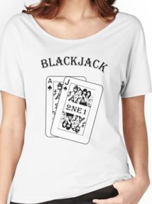 2NE1 - Blackjack t-shirt Women's Relaxed Fit T-Shirt