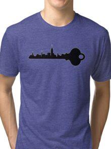 Key to the City Tri-blend T-Shirt