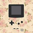 Gameboy Floral Phone by SuperFluff