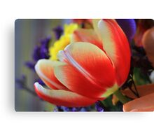 """ Lumens with a White Cap "" Canvas Print"