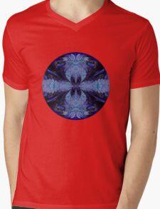 The Deep Blue Mens V-Neck T-Shirt
