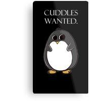 penguin poster  Metal Print