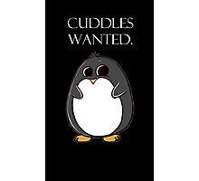 penguin poster  Photographic Print