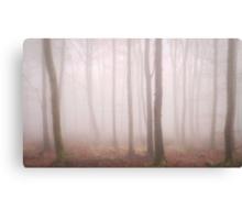 Trees Mist 2 Canvas Print