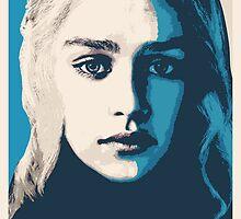 Khaleesi (Daenerys Targaryen) by Immortalsushi