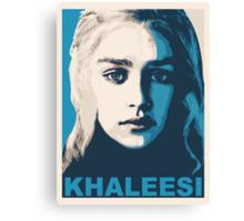 Khaleesi (Daenerys Targaryen) Canvas Print