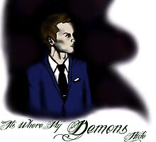 It's Where My Demons Hide by BritCheekbones