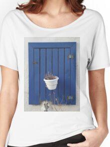 blue window Women's Relaxed Fit T-Shirt