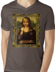 MONA - Grindthis Mens V-Neck T-Shirt