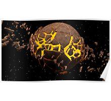 Planet Burst Poster
