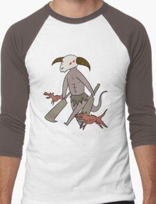 Capra Demon Men's Baseball ¾ T-Shirt
