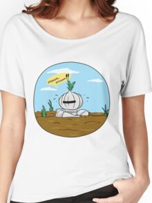 How to grow an onion knight Women's Relaxed Fit T-Shirt