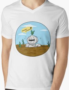 How to grow an onion knight Mens V-Neck T-Shirt