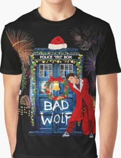 Happy New year from 10th Doctor Graphic T-Shirt
