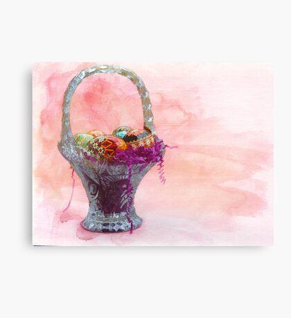 Basket of Joy Canvas Print
