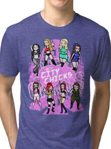 City Chicks 2015 Tri-blend T-Shirt