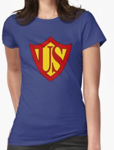 Bizarro Superman - Red Son Womens Fitted T-Shirt