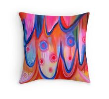 Valley of the Flowers Throw Pillow
