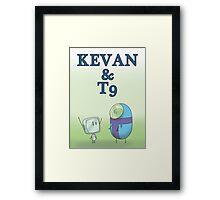 KEVAN & T9 Framed Print