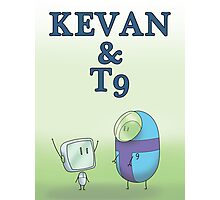 KEVAN & T9 Photographic Print