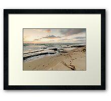 Burns Beach - Final Sunset of 2013 Framed Print