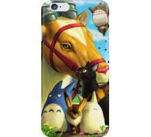 Animal Heroes of Studio Ghibli iPhone Case/Skin