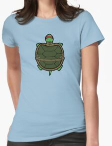 Ninja Turtle Raph Womens Fitted T-Shirt